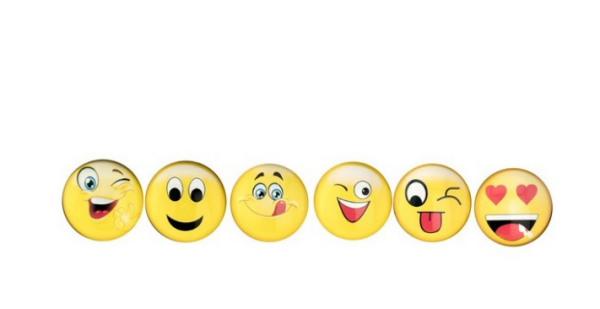 MAGNETE SMILE PC 6 MOD.ASS GIALLO CM.3
