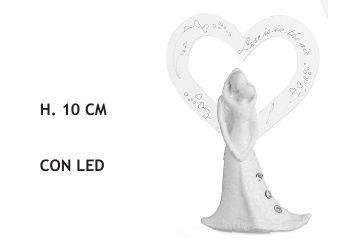 COPPIA CUORE LPEX 3/S MD C/LED H CM.10