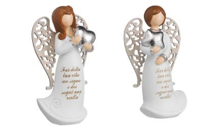 ANGELI PC CON ALI LEGNO GIRL  H 6