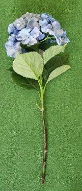 ORTENSIA GRANDE NATURAL TOUCH CM.75 BLU